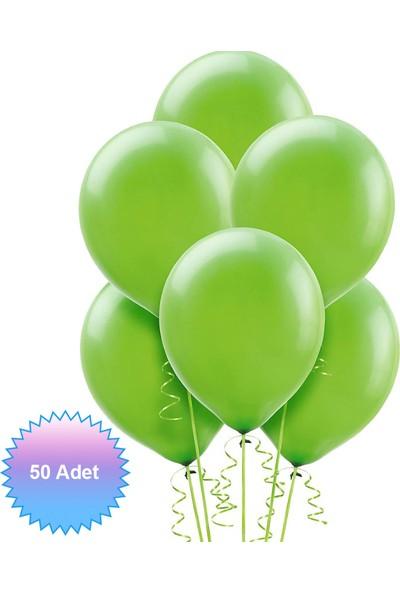 MumvemuM Yeşil Late x Balon 50 li paket
