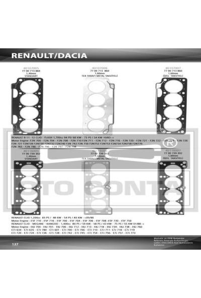 Oto-Conta Silindir Kapak Conta R11 R21 1 40Mm Standart 1700C