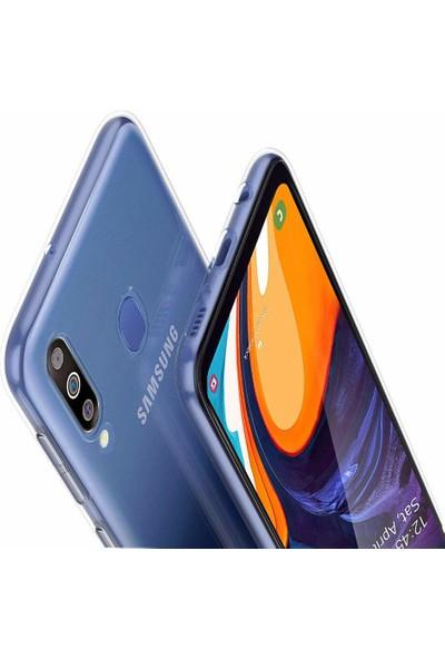 Melikzade Samsung Galaxy A60 Premium Şeffaf Silikon Kılıf