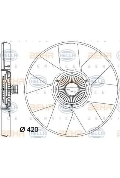 Behr Fan Motoru RenaultMaster III Opel Movano B Nissan Nv400 2.3Dcı 10 Premium Line Bhr 8Mv376758 261
