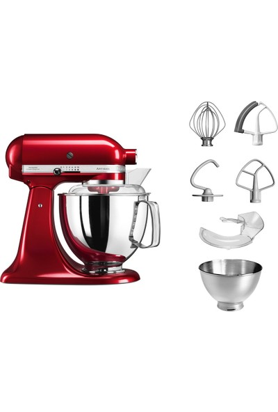 KitchenAid Artisan Stand Mikser 4.8 L- 5KSM175PSECA - Candy Apple
