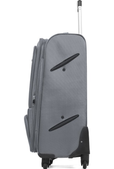 Cengiz Pakel Kumaş Valiz 3'lü Set - 11094