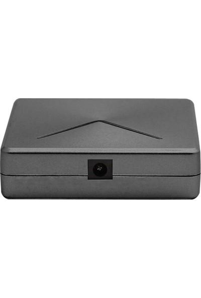 Microcase USB 3.0 Super Speed 4 Port 5 Gbps Çoklayıcı Hub 30 cm Model No: AL2331 - Gümüş