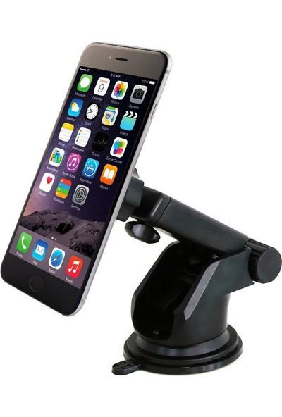 Microcase Uzayan Başlıklı Mıktnatıslı Universal Vakumlu Araç İçi Telefon Tutucu - Model No : AL2334