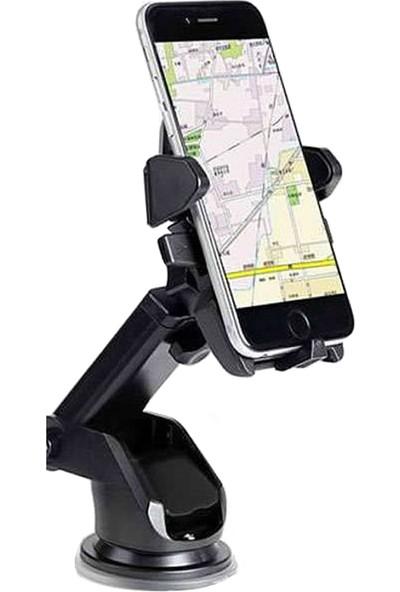 Microcase Uzayan Başlıklı Universal Vakumlu Araç İçi Telefon Tutucu - Model No : AL2335