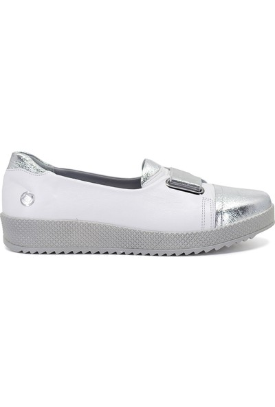 Mammamia D19Ya-4740 Kadın Günlük Ayakkabı Beyaz