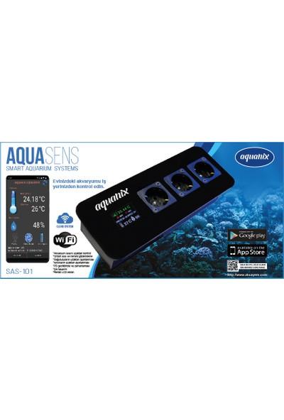 Aquanix Aquasens SAS-101 Wi-Fi Akıllı Akvaryum Sistemi