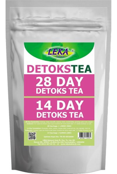 Leka Baharat Detoks Tea - Detoks Çayı 3 Adet