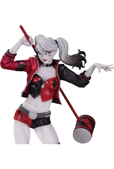Dc Collectibles Harley Quinn Red, Black & White Philip Tan Statue