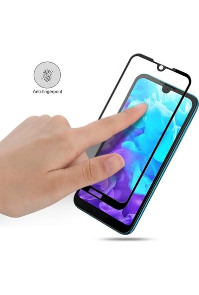 Ally Huawei Y5 (2019) / Honor 8S 3D Full Ekran Koruyucu Siyah