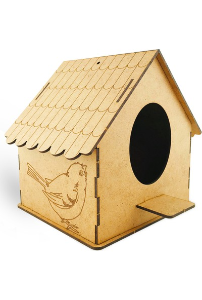 Giftölye Maket Büyük Kuş Evi