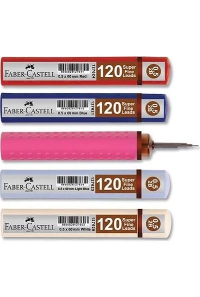 Faber-Castell Grip 0.7 Mın Uc Kırmızı 3 Adet