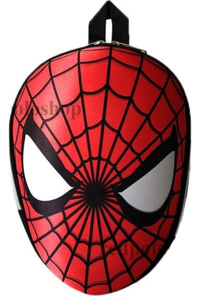 Ewason Spiderman Anaokulu Sırt Çantası 3 Boyutlu Örümcek Adam 3-5 Yaş