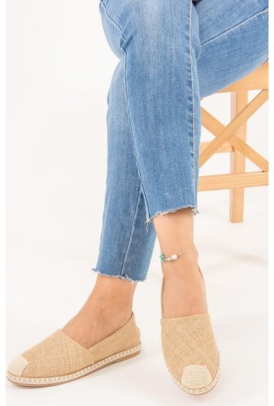 Fox Shoes Bej Kadın Ayakkabı D280250017