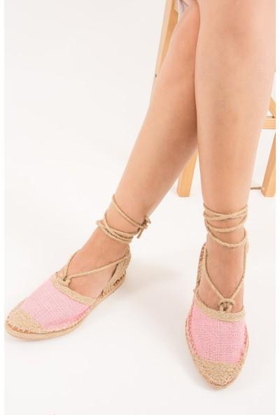 Fox Shoes Pembe Kadın Babet F472270017