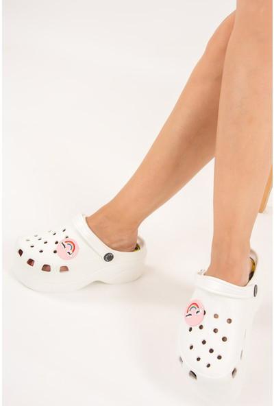 Fox Shoes Beyaz Kadın Sandalet F618771709