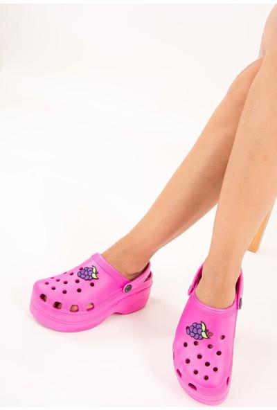 Fox Shoes Fuşya Kadın Sandalet F618771709