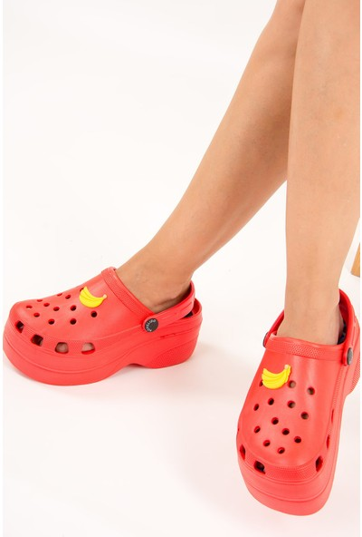 Fox Shoes Kırmızı Kadın Sandalet F618771709