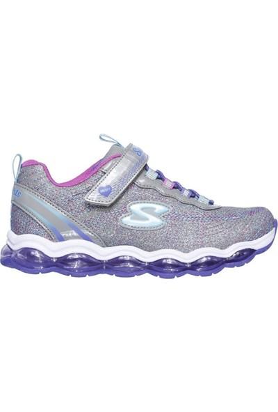 Skechers Glimmer Lights Büyük Kız Çocuk Gri Spor Ayakkabı 10833L Ccmt