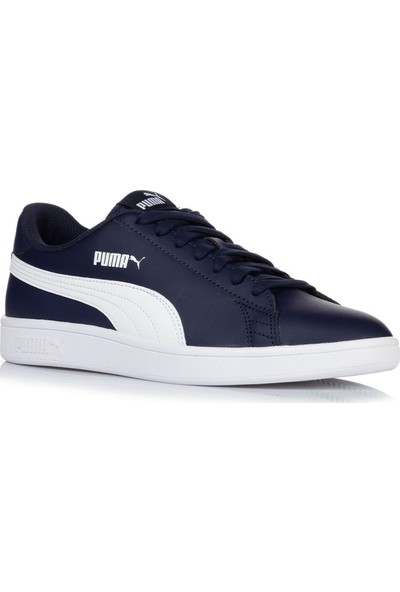 Puma Smash V2 L Lacivert Beyaz Erkek Sneaker Ayakkabı