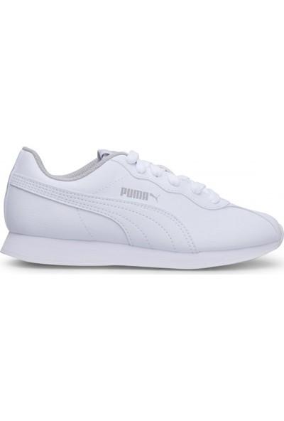 Puma Beyaz Genç Ayakkabısı 36677302 Turin ii Jr