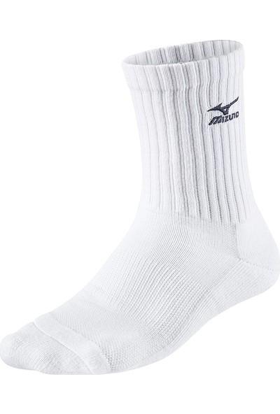 Mizuno 67UU71571 Voleybol Çorabı Beyaz