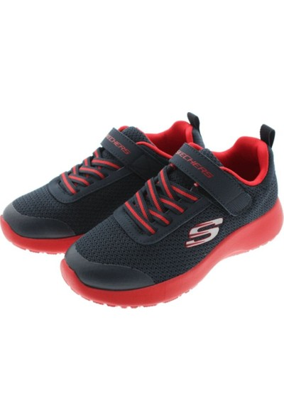 Skechers Dynamight- Ultra Torque Lacivert Kırmızı Erkek Çocuk Sneaker Ayakkabı
