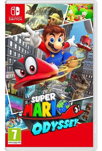 Nintendo Super Mario Odyssey Switch Oyun (Resmi Distribütör Ürünü)