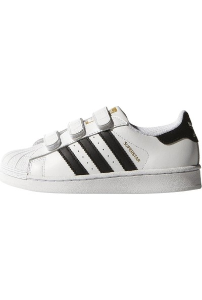 Adidas Çocuk Ayakkabısı Spor Beyaz B26070 Superstar Cf C