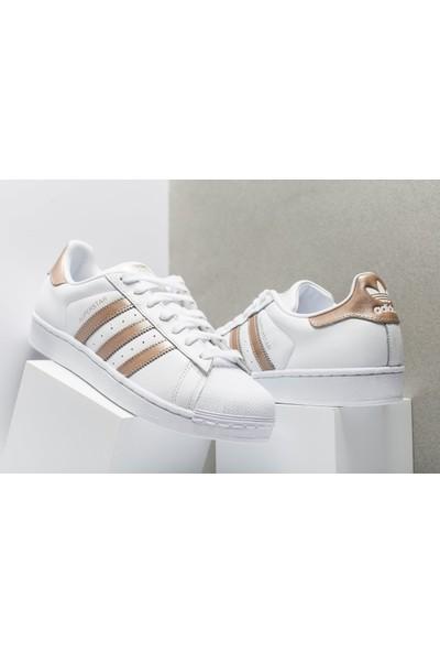 Adidas Beyaz Kadın Ayakkabısı Cg5463 Superstar W