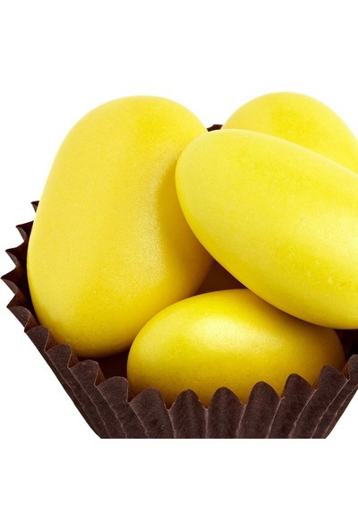 Cakes Party Badem Draje Çikolata Sarı 500 gr