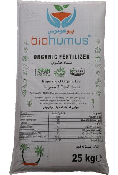 Biohumus Organik Bitki Besin Gübresi 25 kg