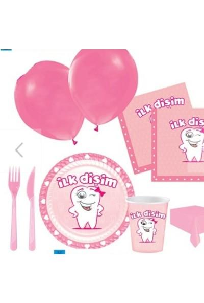 Rollap Kız Bebek Ilk Diş Parti Seti