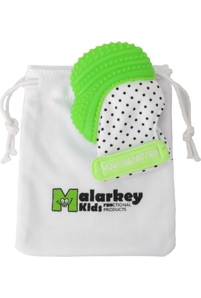 Mouthie Mitten Yeşil Diş Kaşıyıcı Eldiven