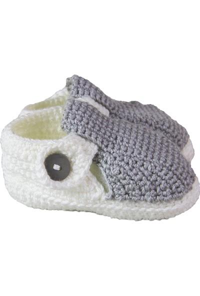 HLOrganik Sandalet Model Bebek Patiği