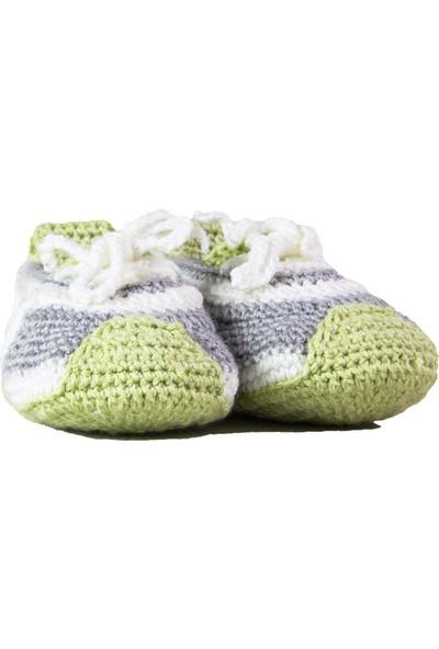 HLOrganik Spor Ayakkabı Modelli Bebek Patiği