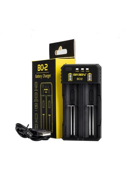 Basen BS2 Powerbank Özellikli Li-Ion ve NiMh/NiCd Pil Şarj Cihazı