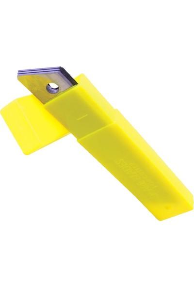 Mbh Maket Bıçağı Yedeği Falçata Ucu 10 Lu Paket 80*9Mm