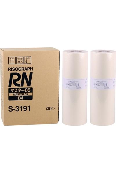 Riso S-3191 B4 Master Rn-2050-2150