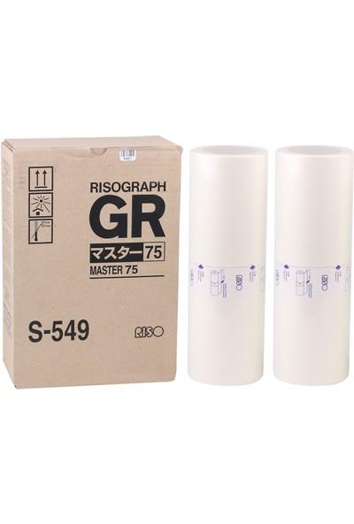 Riso S-549 B4 Master Gr-1700-1750-2700-2710-2750-3710