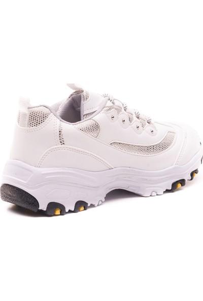 Mille Danıta Günlük Giyim Kadın Ayakkabı Beyaz