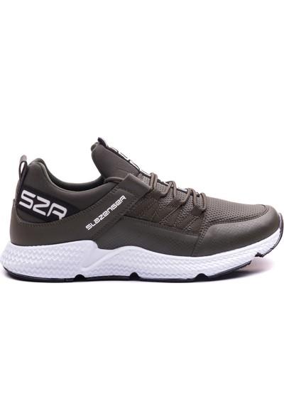 Slazenger Zafıra Koşu & Yürüyüş Erkek Ayakkabı Haki