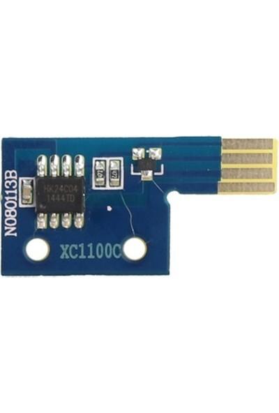Xerox Docuorint C1100-C2110 Mavi Toner Chip 2K