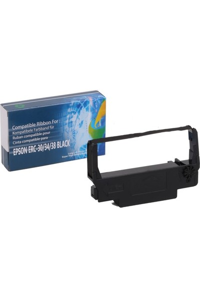 Epson Erc-30-34-38 Smart Şerit Siyah