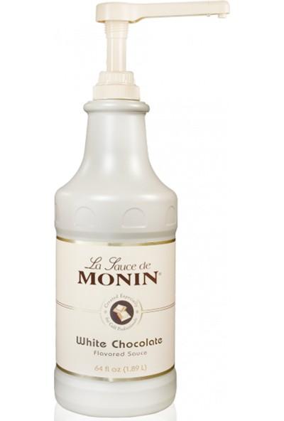 Monin Sos Beyaz Çikolata 189 lt Profesyonel