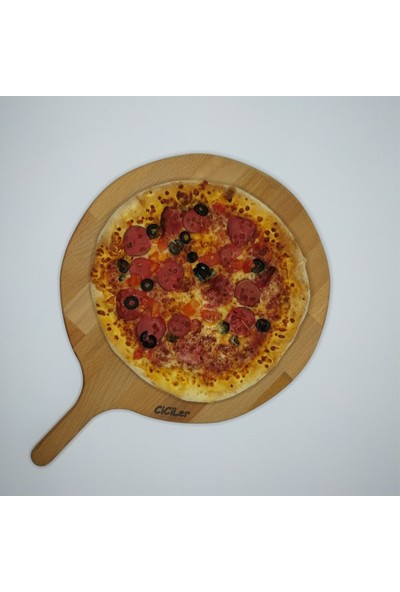 Ciciler Ahşap Saplı Pizza Tahtası AHKT18004