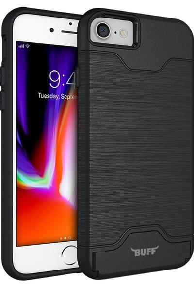 Buff iPhone 8/7 Slim Folder Kılıf Black
