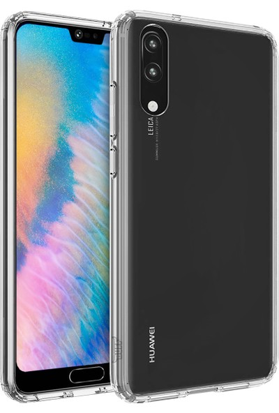 Buff Huawei P20 Air Hybrid Kılıf Crystal Clear