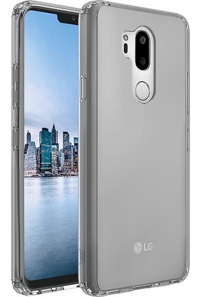 Buff LG G7 Air Hybrid Kılıf Smpke Black