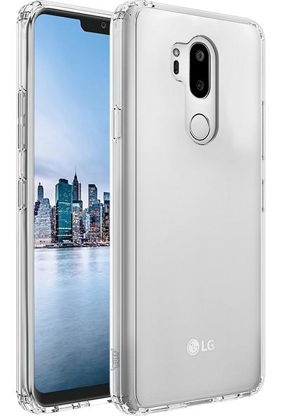 Buff LG G7 Air Hybrid Kılıf Crystal Clear